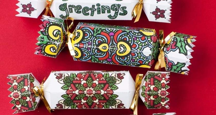 Diy Christmas Crackers Pack Sarah Renae Clark