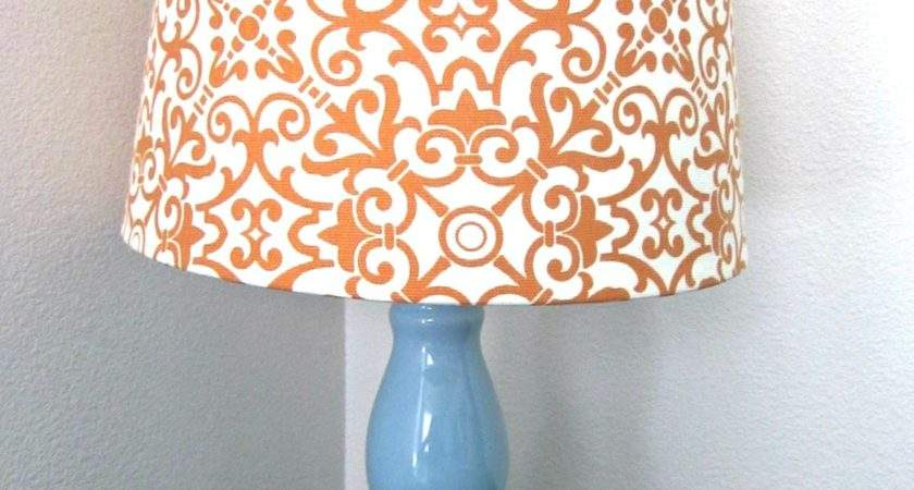 Diy Fabric Lampshade Recover Tutorial Six Sisters Stuff