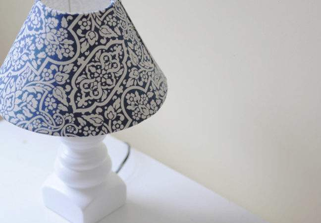Diy Make Lampshade Cover