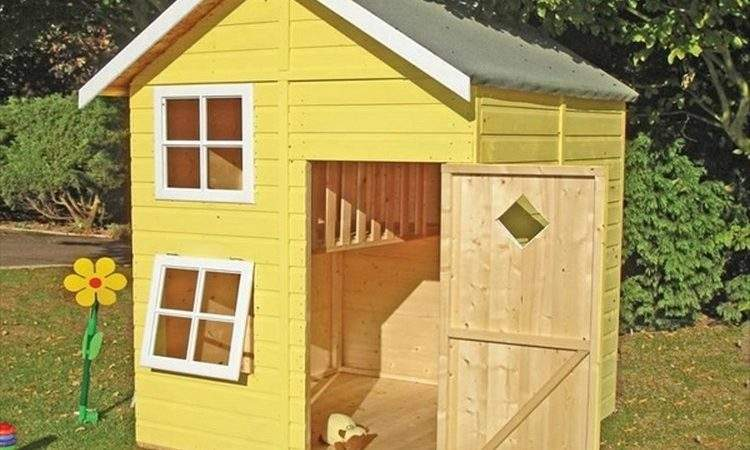 Diy Pallet Kids Playhouse Projects Wood