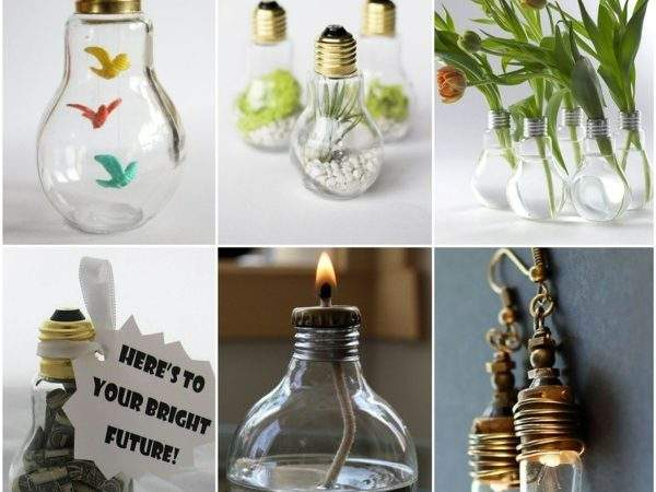Diy Projects Old Light Bulbs Creative Craft
