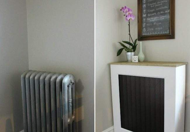 Diy Radiator Cover Genius Bob Vila
