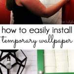 Diy Style Install Temporary Removable