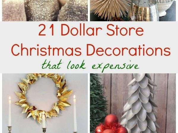 Dollar Store Christmas Decorations Look Expensive