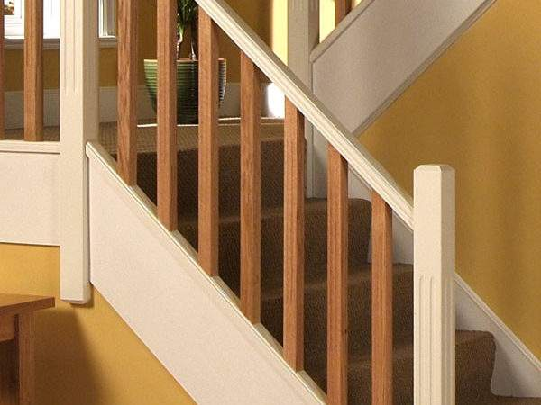 Double Reed Balusters Oak Cheshire Mouldings