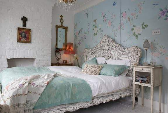 Down Out Chic Interiors Uber Girly Bedroom