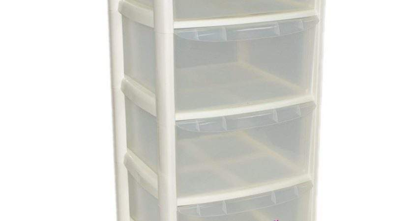 Drawer Plastic Large Tower Storage Drawers Chest