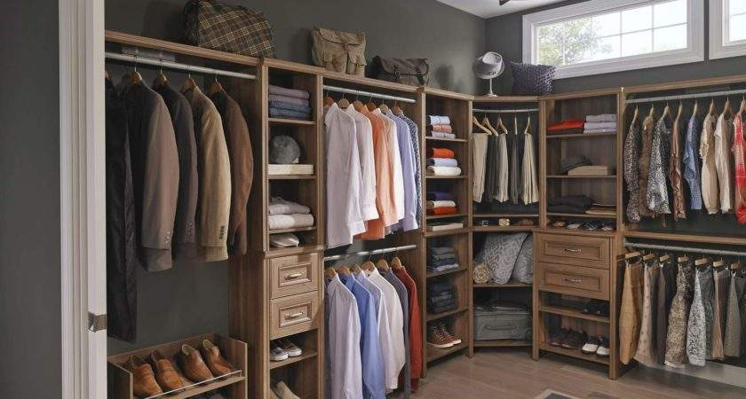 Dress Your Spare Room Create Walk Storage Space