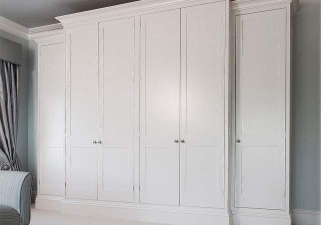 Dublin Classic Frame Wardrobe Traditional Bedroom