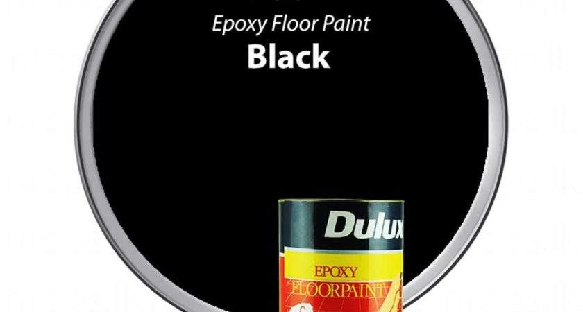 Dulux Floor Epoxy Paint Black Nrops