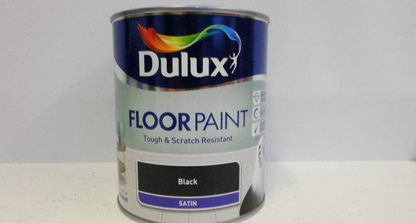 Dulux Floor Paint Roasted Coffee Satin Tough