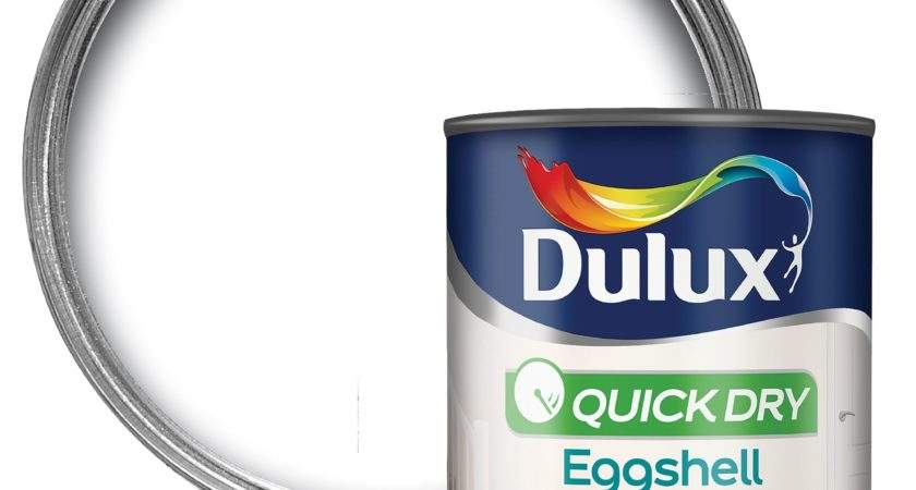 Dulux Interior Pure Brilliant White Eggshell Wood Metal