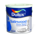 Dulux Satinwood Water Based Brilliant White Mahony