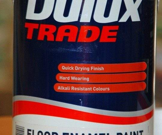 Dulux Trade Floor Enamel Red Oxide Ltr Hyper Paint Pty