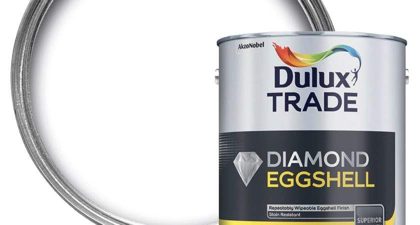 Dulux Trade Interior Brilliant White Eggshell Wood Metal
