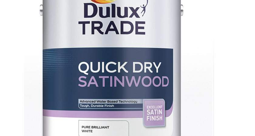 Dulux Trade Quick Dry Satinwood Paint Products Kellaway