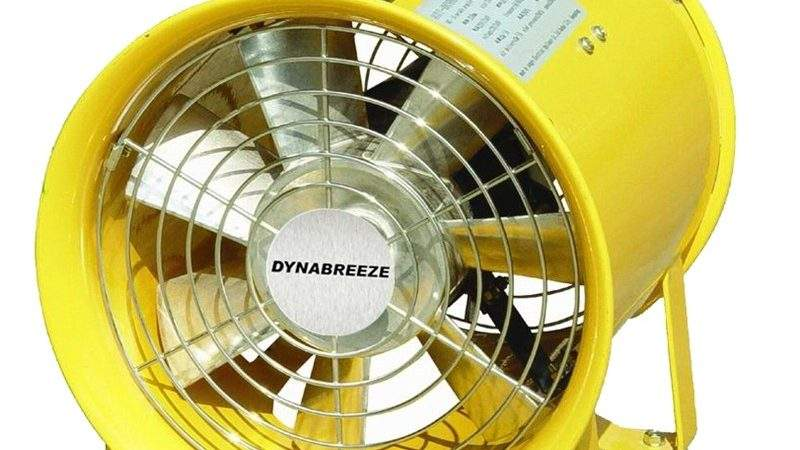 Dynabreeze Yellow Extraction Fan Bunnings Warehouse