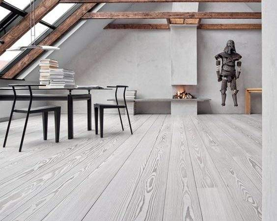 Easy Care White Wood Flooring Diy Fomfest