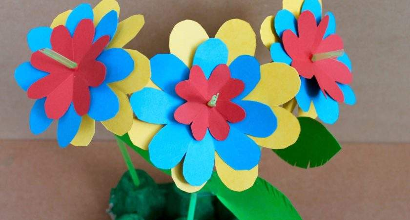 Easy Craft Paper Flowers Find Ideas