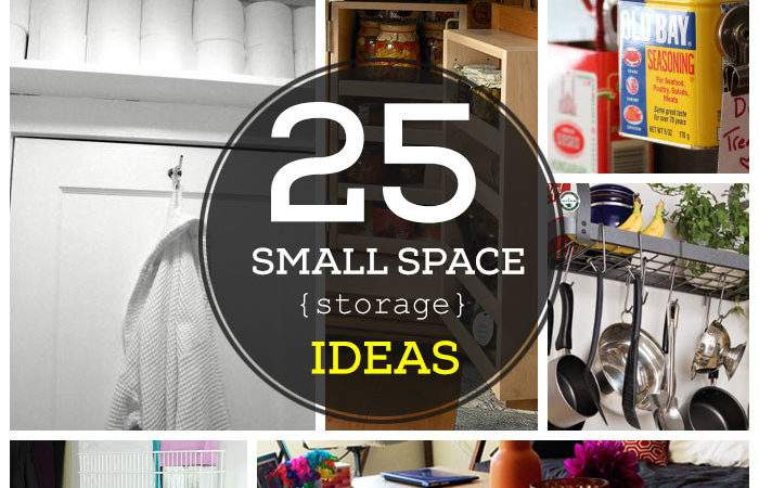 Easy Storage Ideas Small Spaces Culture Scribe