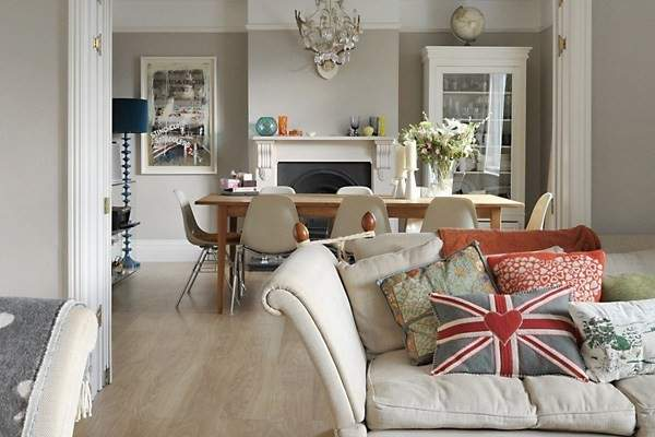 Easy Ways Create Vintage Style Living Room