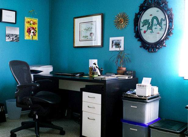 Eclectic Home Office Photos Hgtv