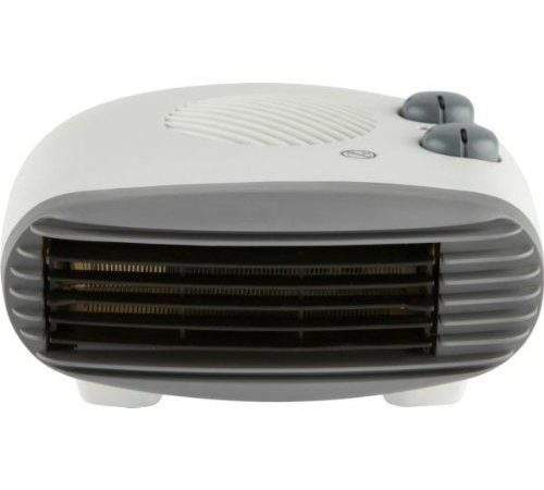 Electric Fan Heater Portable Small Silent Hot Cold