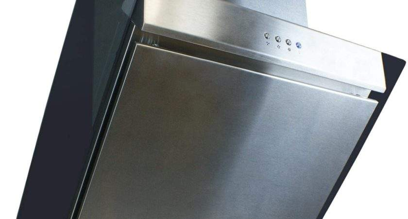 Electriq Stainless Steel Angled Glass Chimney Cooker