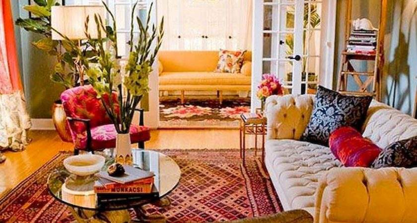 Elegance Bohemian Living Room Furniture Decor Ideas