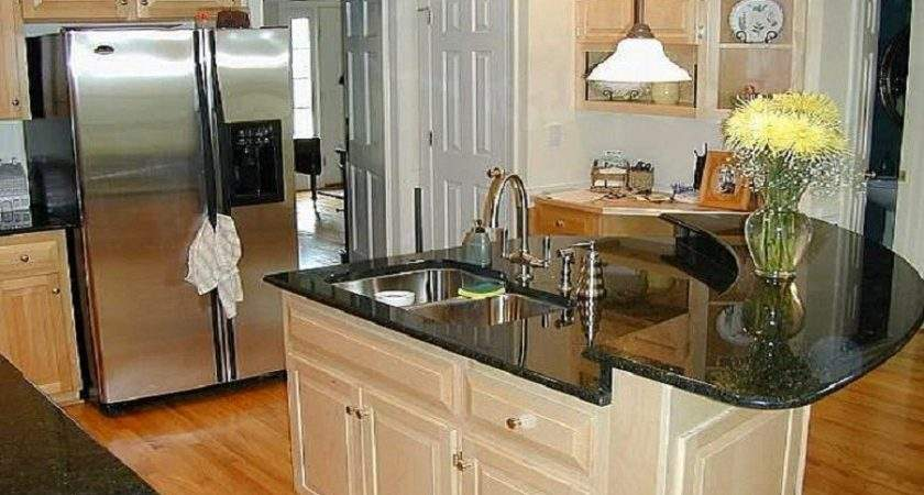 Elegance Style Marble Small Kitchen Island Table Ideas