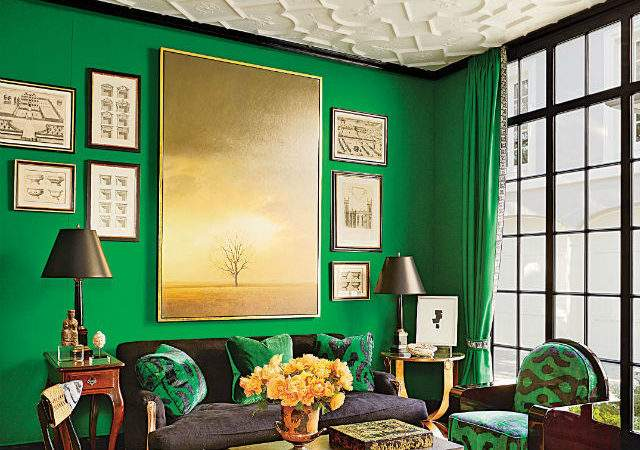 Emerald Green Decorating Ideas Inspiration Color