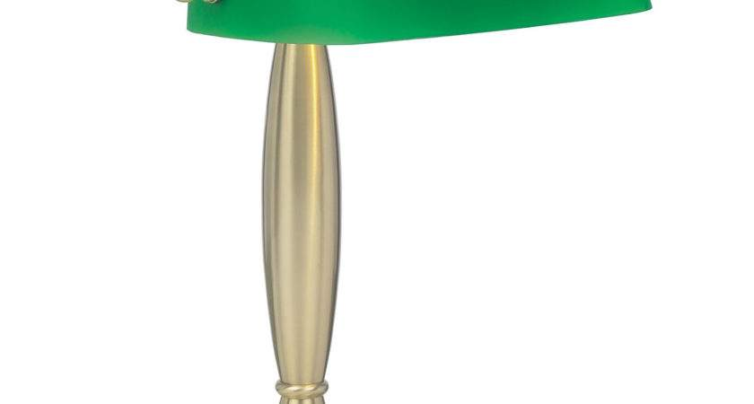 Endon Lighting President Antique Table Lamp Green
