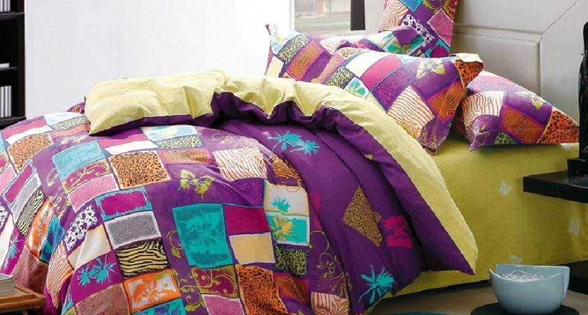 European Style Bedding Set Cotton Satin Color Combinations