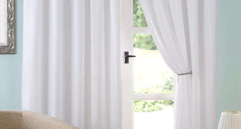 Evie Ready Made Voile Curtains White Delivery