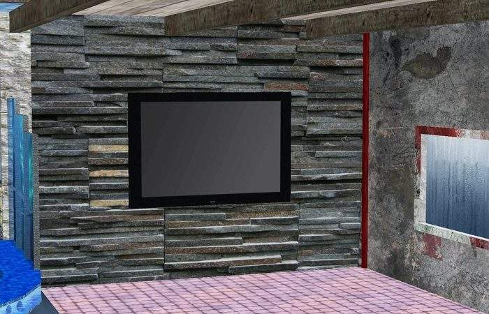 Excellent Wall Textures Living Room Within Home