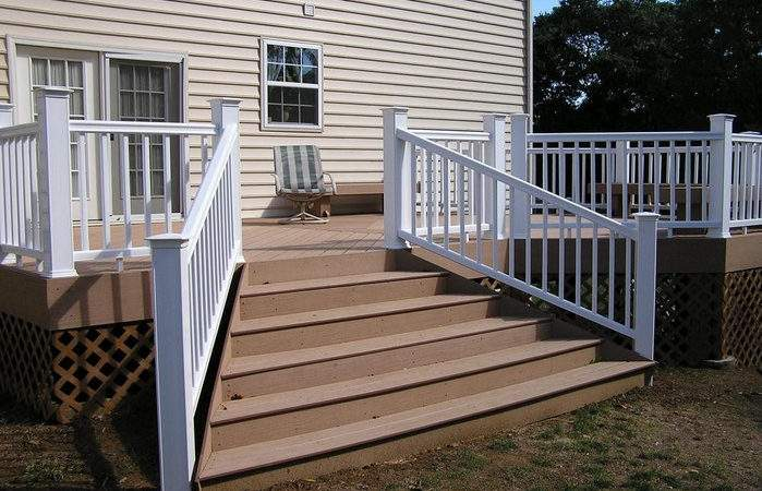 Exterior Wood Stairs Cost Wooden Home