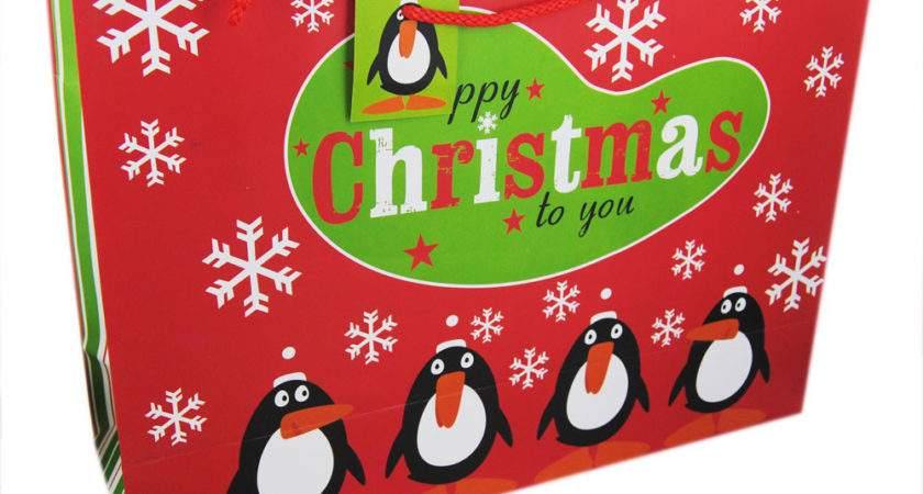 Extra Large Christmas Gift Bag Assorted Bags