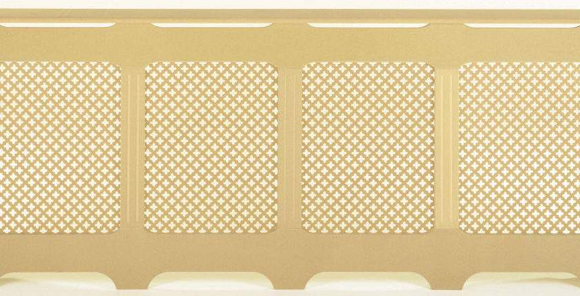 Extra Large Classic Traditional Mesh Grille Mdf Radiator
