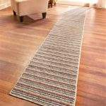 Extra Long Nonslip Striped Floor Runner Rug Spice