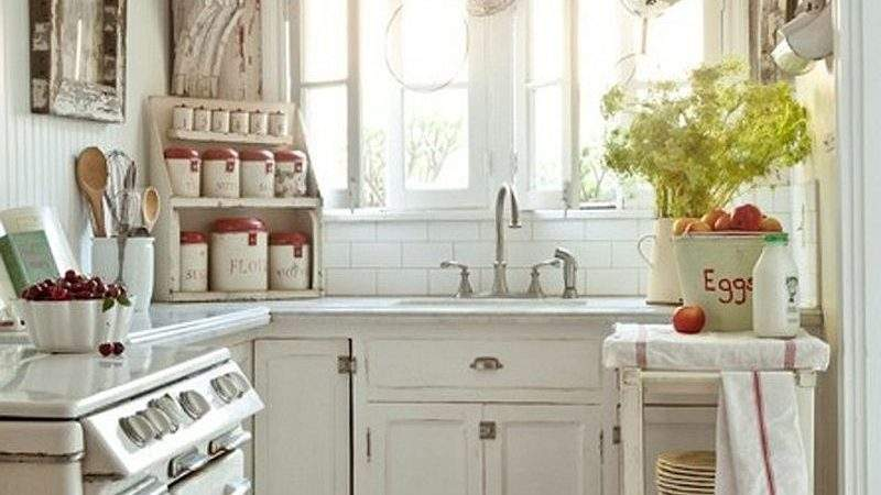 Fabulous Shabby Chic Kitchens Bowl Over