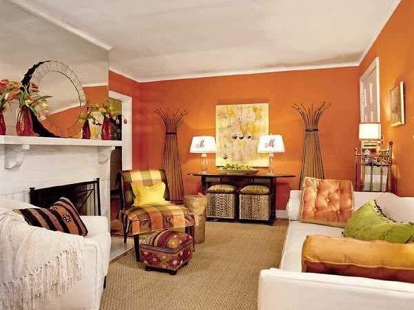 Fall Decorating Ideas Softening Rich Hues Modern