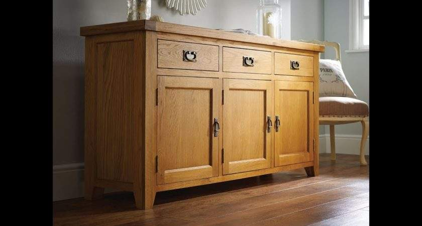 Farmhouse Country Oak Large Sideboard Just