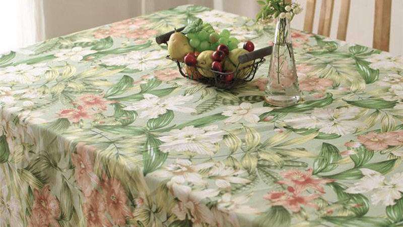 Fashion Thick Cotton Table Cloth American Country Style