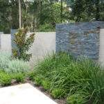 Feature Wall Contemporary Landscape Sydney