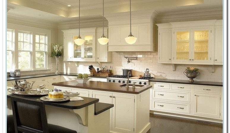 Featuring White Cabinet Kitchen Ideas Home