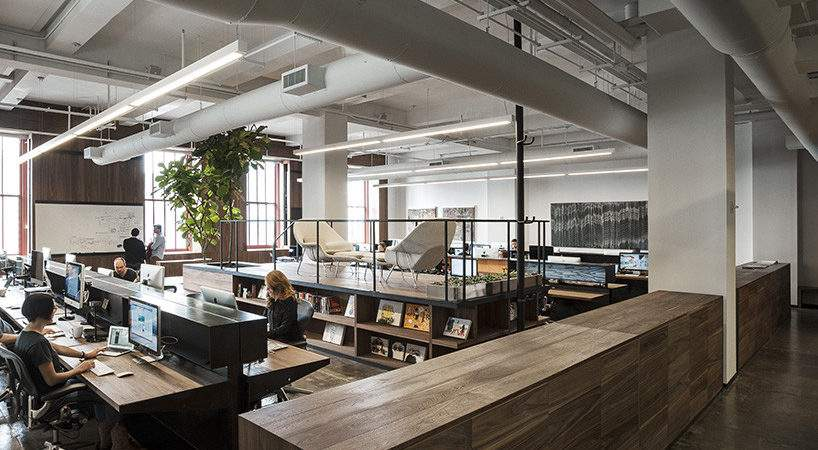 Fiftythree New York Office Features Transparent Spaces