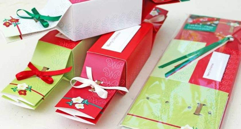 Fill Your Own Christmas Crackers Wedding Favour