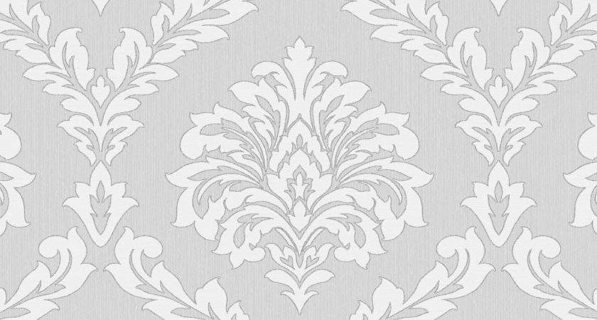 Fine Decor Cavendish Damask Grey
