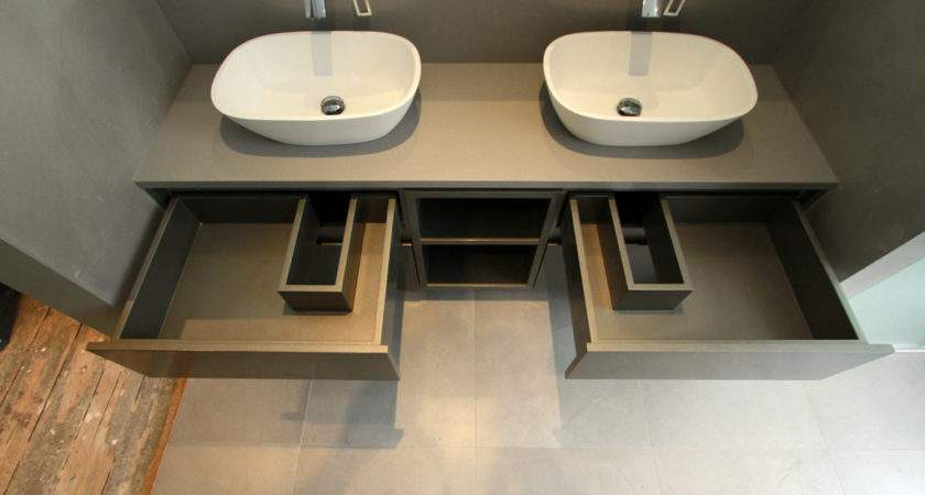 Fitted Bathroom Furniture Simple Brown