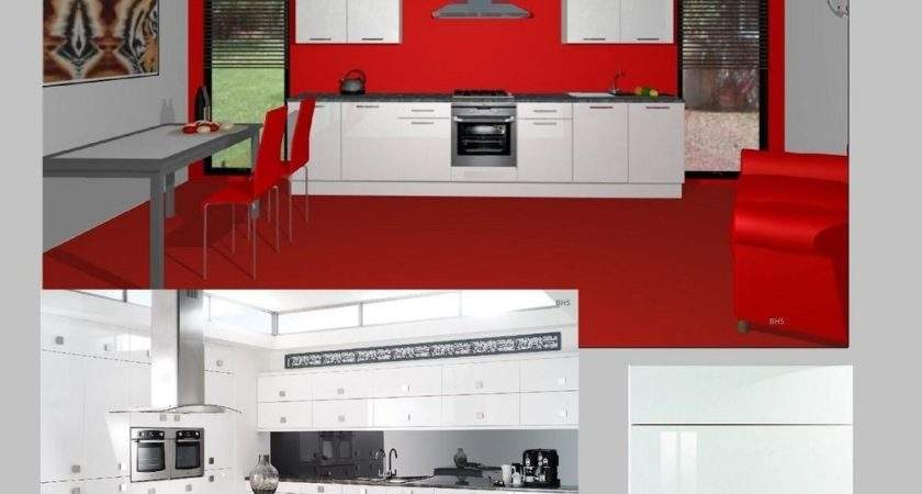 Fitted Kitchens High Gloss White Contemporary